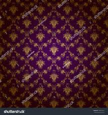 Purple Damask Wallpaper by Damask Seamless Floral Pattern Royal Wallpaper Stock Vector