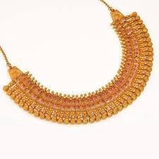 choker gold necklace images Gold choker necklace manufacturer from ludhiana jpg