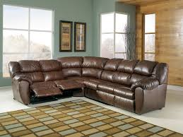 Brown Leather L Shaped Sofa Brown Leather L Shape Sofa With Many Seat Combined With