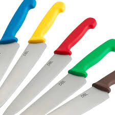 coloured kitchen knives chefs knives cooksmill catering supplies