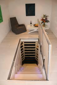 Wine Cellar Floor - wine cellar in kitchen floor home design