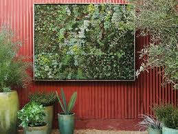 How To Make Vertical Garden Wall - take your gardening vertical with 14 diy living walls brit co