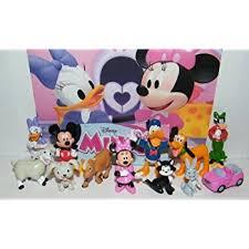 amazon disney minnie mouse deluxe mini figure toy