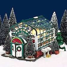 department 56 snow the secret garden greenhouse snow