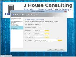 manual ip address windows 7 custom mdt wizard for network settings j house consulting