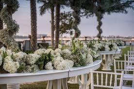 wedding flowers dubai white flowers for the wedding setup at palazzo versace dubai