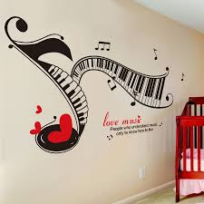 aliexpress com buy music notes read music piano keyboard wall aliexpress com buy music notes read music piano keyboard wall stickers kids room bedroom wall decoration stickers classrooms piano music from reliable t8