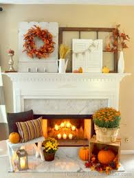 Decorate Fireplace by 15 Fall Decor Ideas For Your Fireplace Mantle