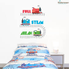 Thomas And Friends Decorations For Bedroom Stickerscape U0027s Official Thomas The Tank Engine Wall Sticker Range
