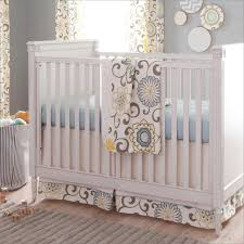 bedding pleasing baby crib bedding grey yellow patterned the