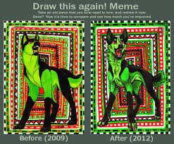 Draw This Again Meme Template - draw this again meme by canisalbus on deviantart