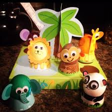 Mickey Mouse Easter Egg Decorating Kit by Easter Dyed Eggs Animal Jungle Style Holiday Cuteness