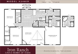 3 Bedroom Mobile Home 3 Bedroom Double Wide Floor Plans Comfy Double Wide Ranch 3 Mobile