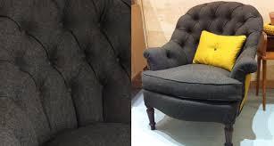 siege capitonné en matière de siège tapisserie d ameublement à toulouse