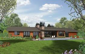 ranch home plans with pictures stunning contemporary ranch home plan 69510am architectural