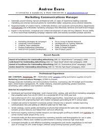 Free Marketing Resume Templates 10 Marketing Resume Template Free Word Pdf Sles