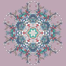 circle lace organic ornament mandala stock vector illustration of