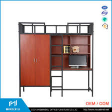 china practical cheap equipment steel double size bunk bed
