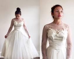 retro wedding dresses 1950s wedding dress etsy