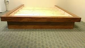Flat Platform Bed Cube Bed Designs Hawaii Platform Beds The Aloha Boy