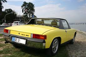 porsche 914 yellow 914 for sale