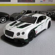 bentley gt3 interior bentley white continental gt3 r diecast model car 1 24 scale