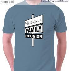 reunion design ideas for custom t shirts