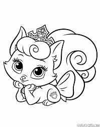 coloring page kitty cutie