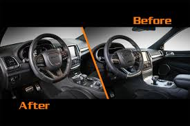 grey jeep grand cherokee interior carbon motors present carbon infused jeep grand cherokee srt8