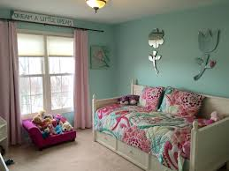 pottery barn girl room ideas harper s finished room paint is tame teal by sherwin williams and