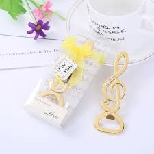 wedding gift delivery 50 pieces batch fast delivery gold notebook opener