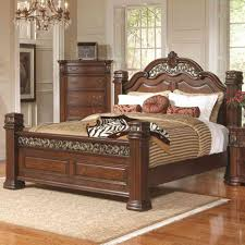 pine double bed frame wood and fabric bed king sleigh bed best