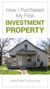how i purchased my first real estate investment property housing