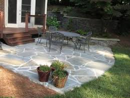 Stone Patio Design Flagstone Patio Design Ideas Archadeck Of Charlotte