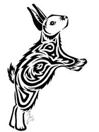 tattoo sketch of tribal rabbit wallpaper tattoo pinterest