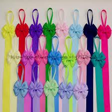 hair bow holders aliexpress buy kids hair bow holder high quality grosgrain