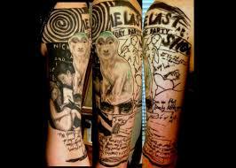haley adams tattoo tattoos illustrations nick cave u0027s art