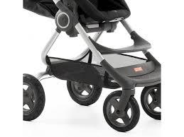siege bebe scooter stokke nouvelle poussette scoot chassis argenté siège noir