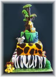 we love this safari themed baby shower cake by craftsy member