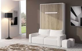 armoire lit escamotable verticale canapé coffre espacia 140 facade