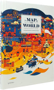Assembly Row Map A Map Of The World The World According To Illustrators And