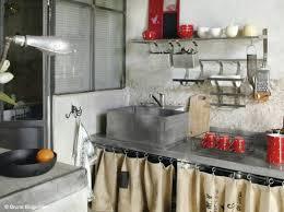 rideau sous evier cuisine rideau de cuisine brise bise brod jours 50x100 cm brisebises et