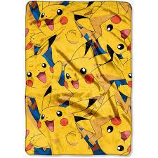 pokemon kids u0027 blankets u0026 throws