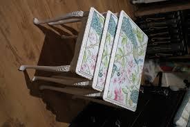 nest of three tables shabby chic tables anitas soft furnishings