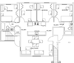 Pensmore Mansion Floor Plan 14 Shared Apartments Floor Plans For Student Housing Fancy Idea