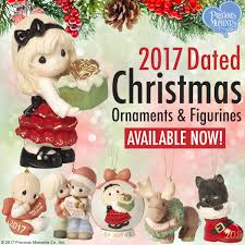 2017 dated ornaments and figurines are available now