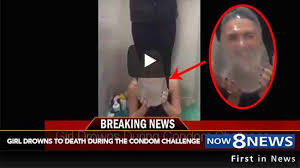 Challenge Dies Drowns While Doing The New Condomchallenge Now8news