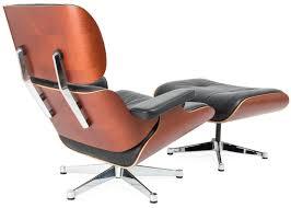 Eames Leather Lounge Chair Vitra Eames Lounge Chair U0026 Ottoman New Black Leather U0026