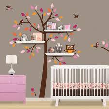 Skip Hop Crib Bedding Shelf Tree Decal Children Wall Decal Treetop Friends Skip