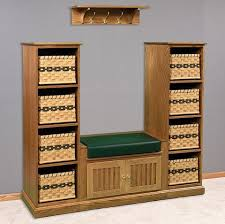 Solid Wood Entryway Storage Bench 82 Best Mud Room Furniture Images On Pinterest Mud Rooms Amish